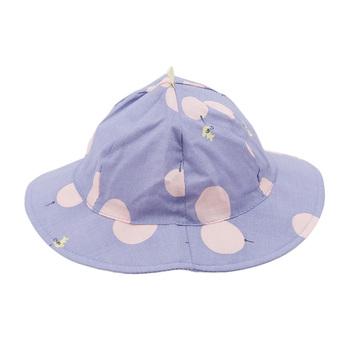 Śliczna dziecięca czapka sportowa maluch dziecko niedz kapelusz Polka Dot dziewczyna chłopiec słońce działa dorywczo oddychający kapelusz na plażę tanie i dobre opinie CN (pochodzenie) Dziewczyny Pasuje prawda na wymiar weź swój normalny rozmiar baby hat Oddychające Poliester Outdoor Products
