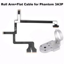 Braccio Roll Staffa In Alluminio Piano Del Nastro del Cavo Della Flessione per DJI Phantom 3 Adv Pro 3A 3P Drone Giunto Cardanico di Ricambio parti di Riparazione Accessori