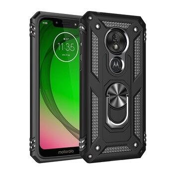 Перейти на Алиэкспресс и купить Противоударный армированный чехол для Motorola Moto G7 G6 E6 Plus P40 power E5 Play One Zoom Pro action Z4 защитный Магнитный чехол для телефона