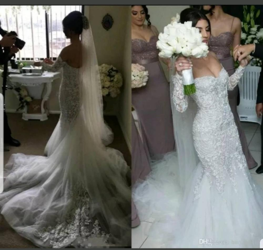 Custom Made Luxury Mermaid Wedding Dresses