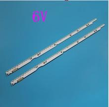 6V LED الخلفية قطاع ل UE32ES6710 UE32ES6800 UE32ES6100 UE32ES620 UE32ES5500 UE32ES5507 UE32ES6760S زلاجات 2012svs32 7032nnb