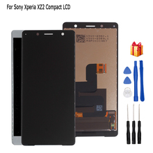 For Sony Xperia XZ2 Compact LCD Display Touch Screen Digitizer Assembly Replacement Parts For Sony XZ2 Mini LCD Screen suitable for original sony xperia z5 small lcd touch screen digitizer for sony z5 mini e5823 e5803 screen display with frame
