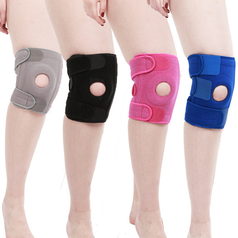Running Fitness Knee Support Protector Sport Knee Brace Durable Athletics Workout Joint Bandage Cycling Knee Sleeve New