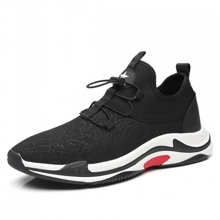Nouveauté hommes respirant chanvre baskets homme Non-cuir chaussures décontractées noir confortable chaussures plates grande taille 43 E0088