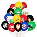 10 шт. супергероев латексных воздушных шаров с сборная игрушка