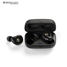 BachJohann T7 Bluetooth 5.0 TWS Ture Wireless Sports Bass Earbuds Handsfree Call earphones with Mic earbud for Earphone