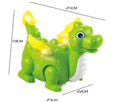 smartly toys Children Will Lay Eggs Dinosaur Toy Educational Electric Music Light Projection Unisex Electronic Plastic Battery