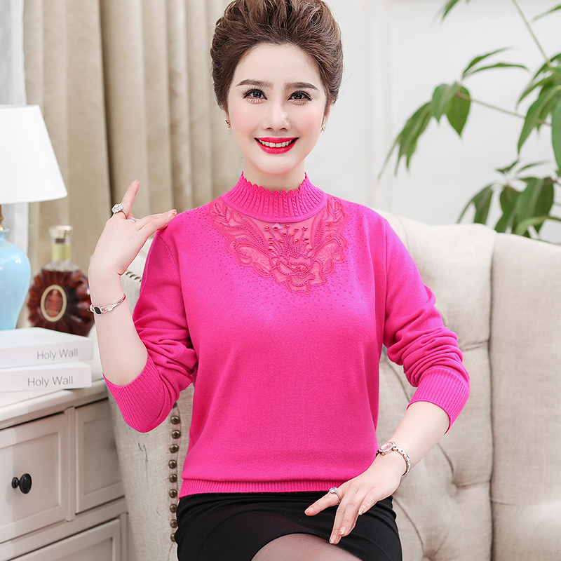 Women thin Sweater 2017 fashion New Autumn Spring Pullover Long Sleeve hollow neck Sweaters thumbnail