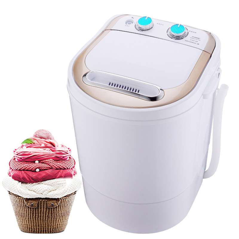 Small Mini Washing Machine Semi-automatic With Quick Spin Drying Small Socks Machine With Dehydration