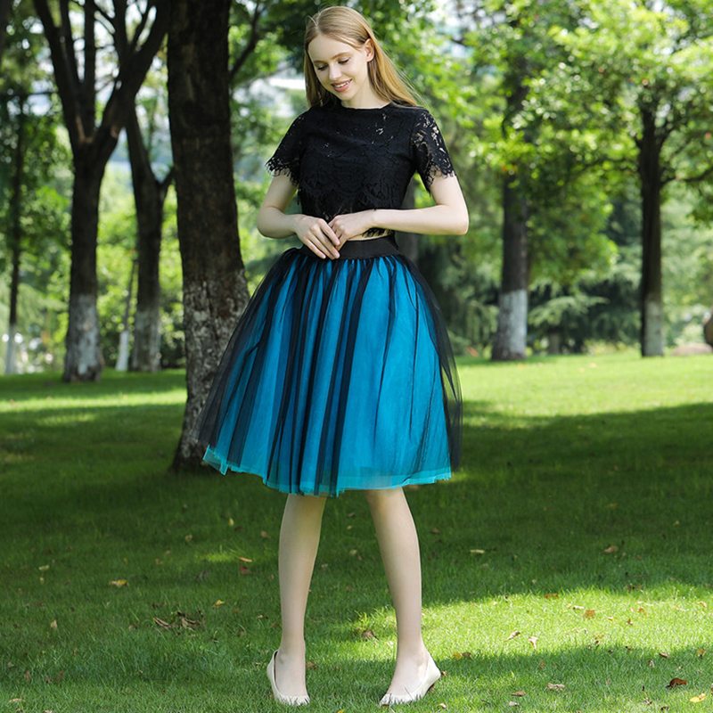 Mesh Tulle Skirt 2019 on 7 Layers Fluffy Tulle Skirts Mom and Daughter Skirts  Night Out