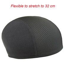 Мотоциклетный шлем, внутренняя Кепка, быстросохнущая дышащая шапка, шапочка, кепка для шлема, купольная Кепка, Влагоотводящая зимняя