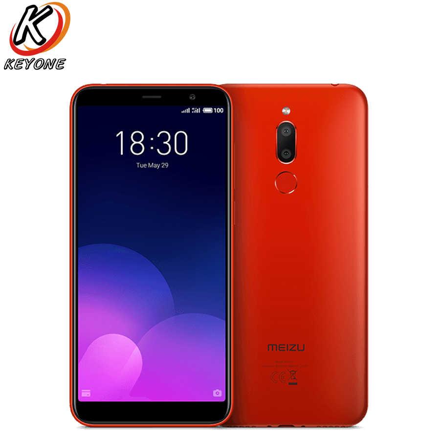 "Version EU Meizu M6T téléphone portable 5.7 ""18:9 affichage complet 2 GB/3 GB RAM 16 GB/32 GB ROM Octa Core 3300mAh téléphone double SIM à empreinte digitale"