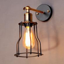 цена на 60W Loft Retro Lamp Edison Vintag Wall Lamp Light For Home Industrial Wall Sconce American Style,