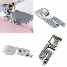 2pcs Hot Sale Domestic Sewing Machine Foot Presser Rolled Hem Feet Set For Brother Singer Sewing Accessories