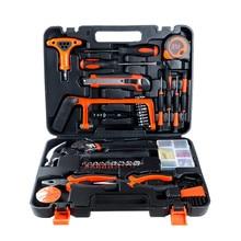 Ensemble d'outils manuels de réparation de menuiserie, 82 pièces, Combo d'outils ménagers, quincaillerie polyvalente, boîte à outils de décoration de maison, électricien