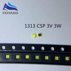 Image 1 - 1000PCS For SAMSUNG LED 1313 TV Application LED Backlight 3W 3V CSP Cool white LCD Backlight for TV TV Application