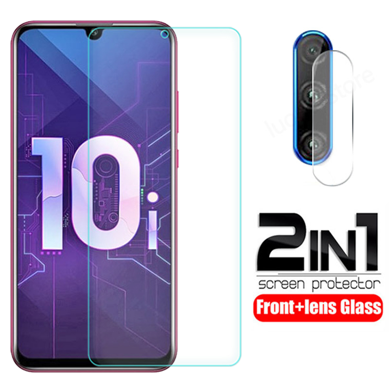 2-in-1 Camera Lens Tempered Glass On Honor 10i HRY-LX1T Screen Protector For Huawei Honor 10i Glass Honer 10 I Protective Film