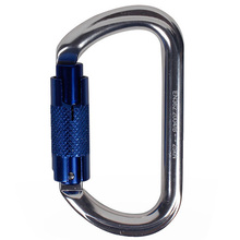 TOP!-25Kn Carabiner Screw Locking Rock Climbing Carabiner Security Master Lock Hms Pear Buckle Mountaineering Equipment цена 2017
