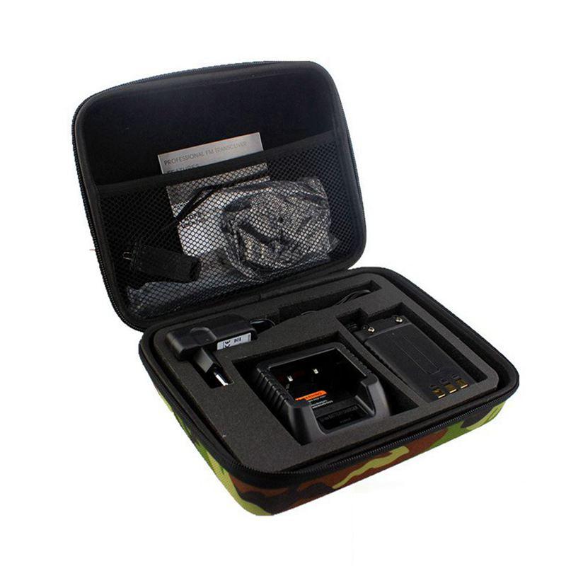 Promotion--BAOFENG UV-5R UV-5RE + TYT TH-F8 Walkie-talkie Two-way Radio Storage Bag Storage Bag Camouflage Radio