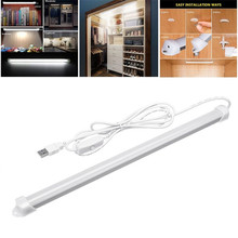 5V Usb Rechargeable Led Desk Lamp 3W/5W USB LED Reading Study Light Dimmable Bar for Kitchen Under Cabinet Lighting