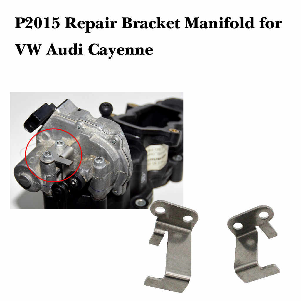 . P2015 tamir braketi manifoldu Audi Cayenne 2.7 3.0 4.2 TDI 059129086 araba tamir aksesuarları değiştirin