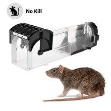 1/2 шт многоразовая ловушка для мыши, клетка для крыс, ловушка для мышей, ловушка для мышей, автоматические ловушки для крыс, управление для до...