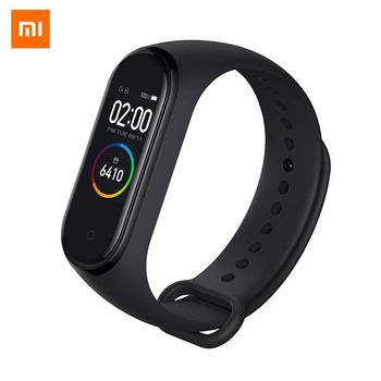 (New)2019 Xiaomi mi band 4 Smart Bracelet Mi Smart Band 4 Color Screen 135mAh Bluetooth 5.0 Hear rete monitor 50M Waterproof F