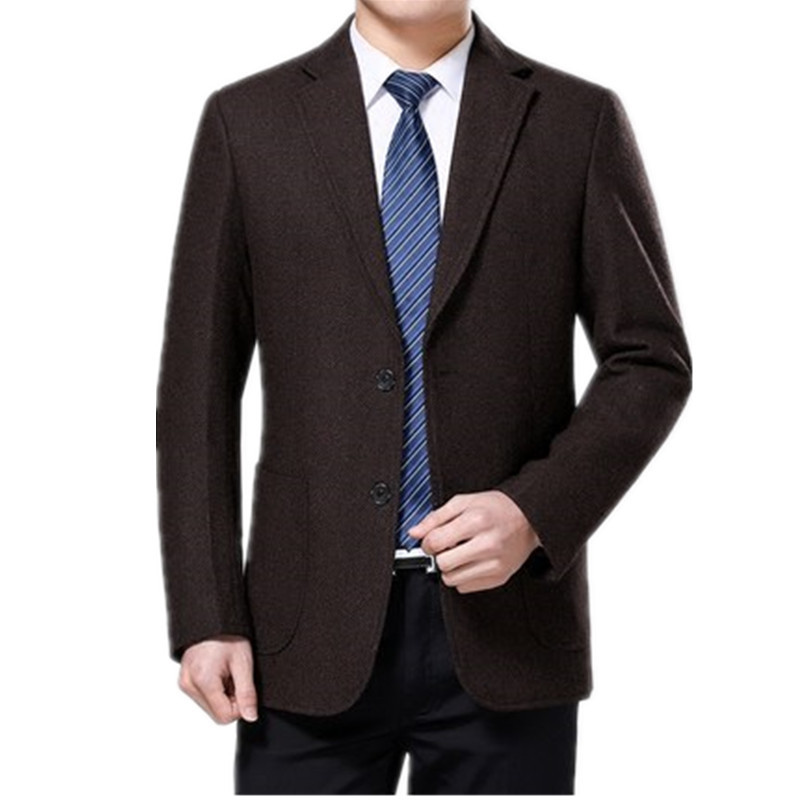 Wool Casual Gentleman Style Costume Homme For Wedding Party Dresses Custom Men's Blazer Slim Fit Blazer Masculino HH144