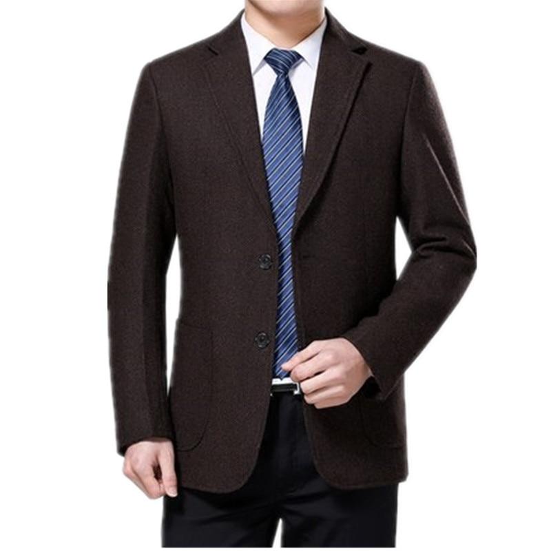 Wool Casual Gentleman Style Costume Homme For Wedding Party Dresses Custom Men's Blazer Slim Fit Blazer Masculino HH144