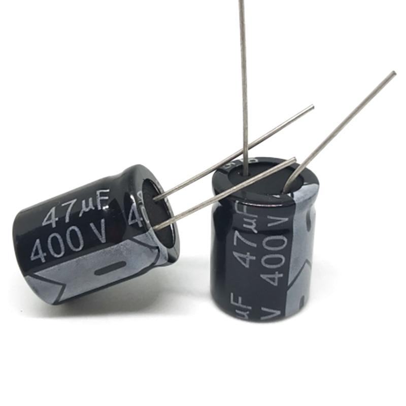 Купить высококачественный 10 шт/лот алюминиевый электролитический конденсатор