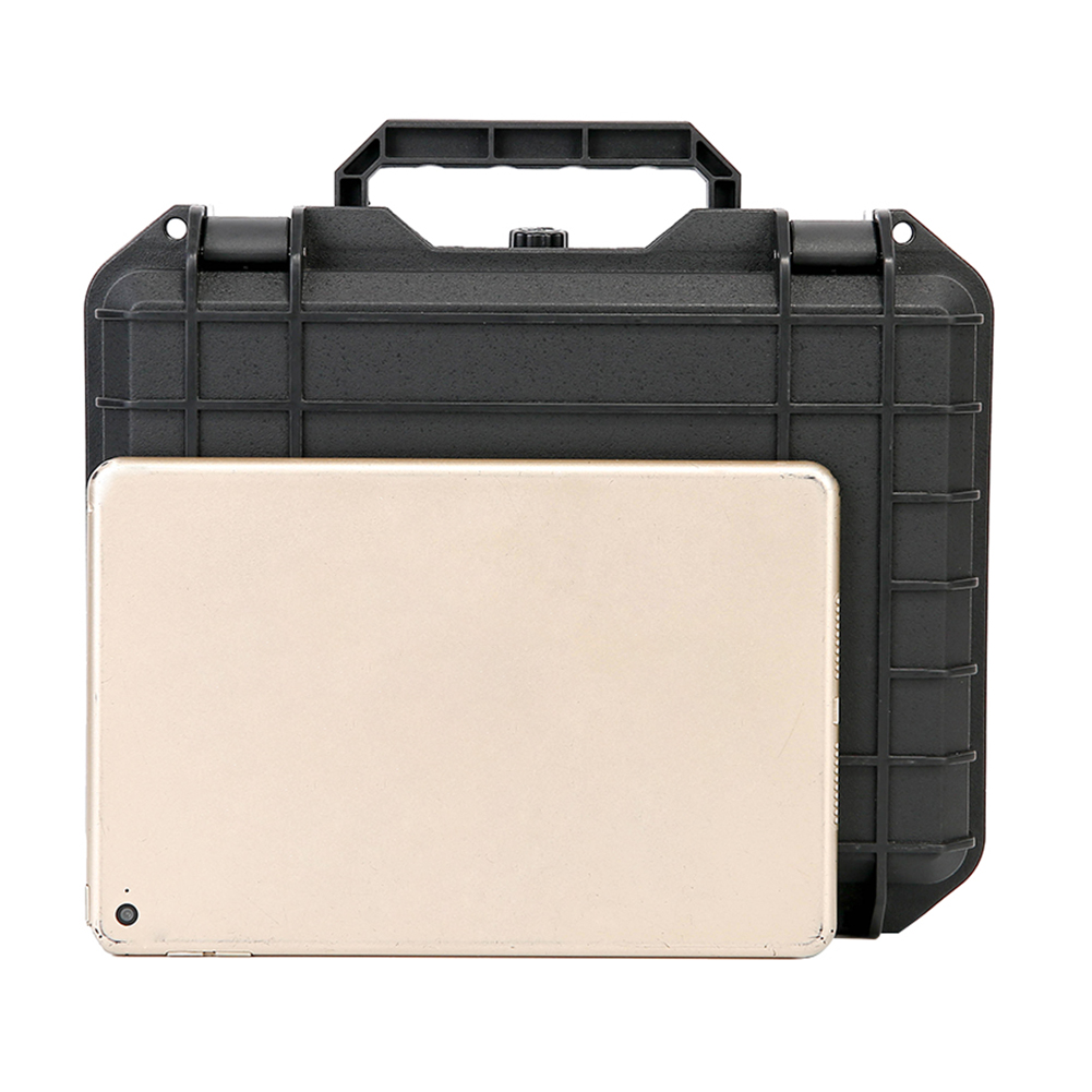 Купить с кэшбэком Portable Waterproof Handheld Gimbal Stabilizer Hard Shell Suitcase Storage Box Bag Shockproof handbag For Zhiyun Smooth Q2