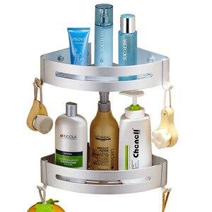 Image 5 - バスコーナー棚浴室のシャワー棚ネイル 【送料無料シャンプーホルダー棚収納棚ラック浴室バスケットホルダー EL99