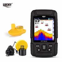 LUCKY ff718lique capteur de sondeur de profondeur 2-en-1 capteur filaire et sans fil Portable sondeur d'écho étanche pour tous les Types de pêche