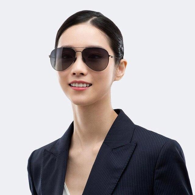 Original Xiaomi Mijia Flying Sunglasses Pro Nylon Polarized Lenses Stainless Steel ultra-thin Frame only 19g anti UVA UVB