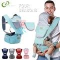 Ergonomische Baby träger Infant Kid Baby Hipseat Sling Vorne Känguru Baby Wrap träger für Baby Reise 0-36 monate GYH