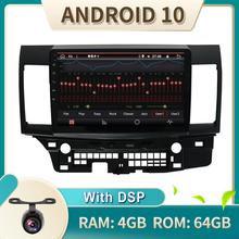 Radio Stereo Car-Audio Lancer 2006 Android-10 Mitsubishi 2009 2007 for 4G 2008 PX6 DA