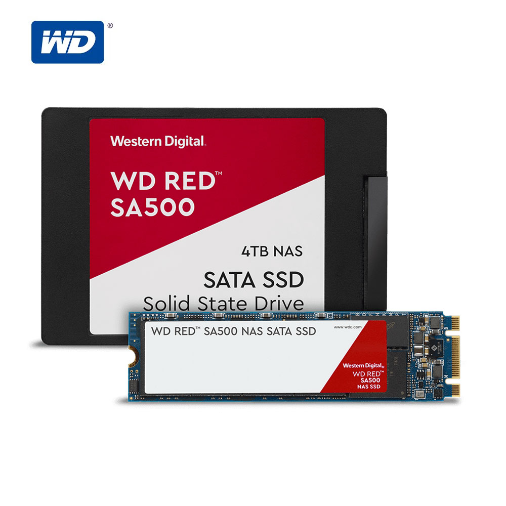 WD Red™ SA500 NAS SATA 500GB 1TB 2TB 4TB SSD Western Digital