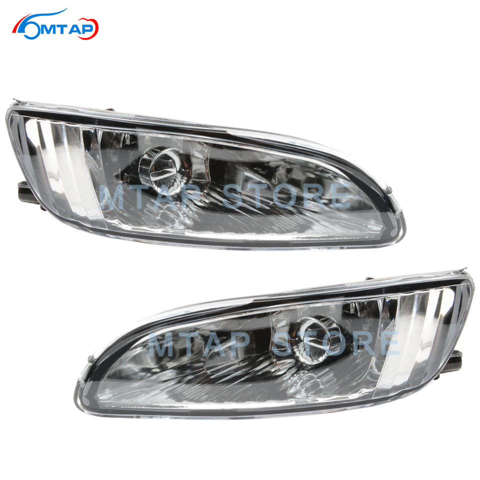 MTAP Fog Light Fog <font><b>Lamp</b></font> For <font><b>Lexus</b></font> For <font><b>RX300</b></font> RX330 RX350 2003 2004 2005 2006 Front Bumper Daytime Running Driving Light Foglight image