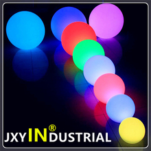 JXYINDUSTRIAL PE (polyethylene) LED BALL 25CM GARDEN balls decoration 30cm/40cm/50cm