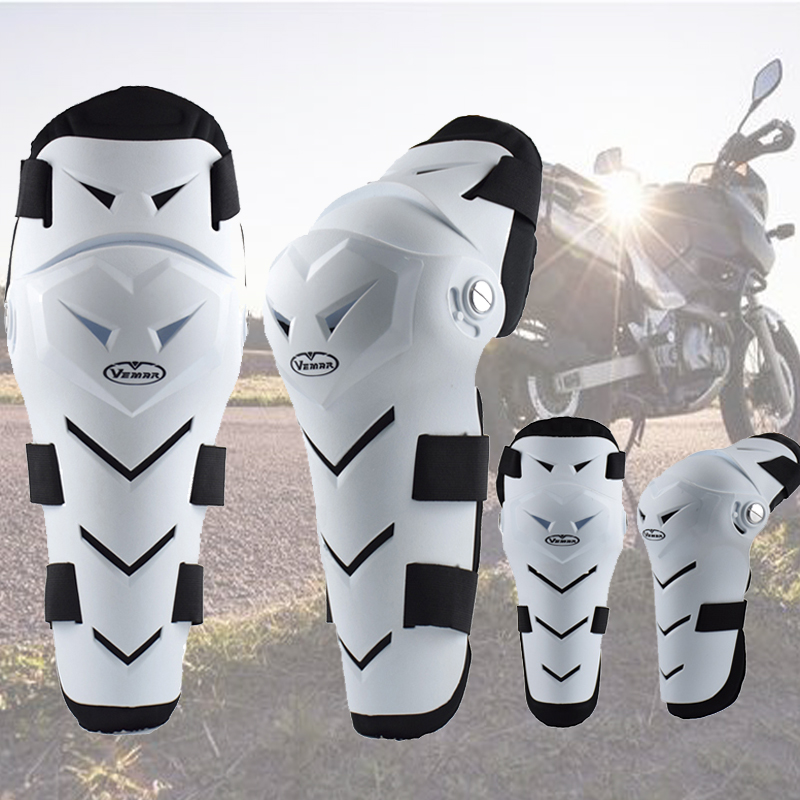 VEMAR Knee Protector Four-Piece Riding Elbow Armor Motorcycle Knee Pads Motocross Racing Equipment Shatter-Resistant Leggings