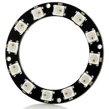 LED Ws2812 Ring RGB 5050 LEDs Integrated Driver Compatible 12 LEDs-D50Mm(China)