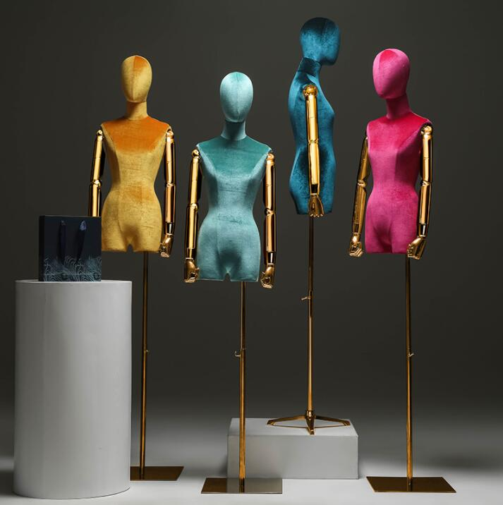 4style arm color window mannequin body stand Female dress form Mannequin,jewelry flexible women,adjustable rack,doll 1pc C840