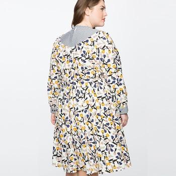 Print Party Autumn Bodycon Long Sleeve Floral Dress