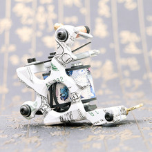 Tattoo Machine Permanent Makeup High Quality RCA Light Weight Shader Professional Electric 10 Wrap Coils For Tattoo Supplies