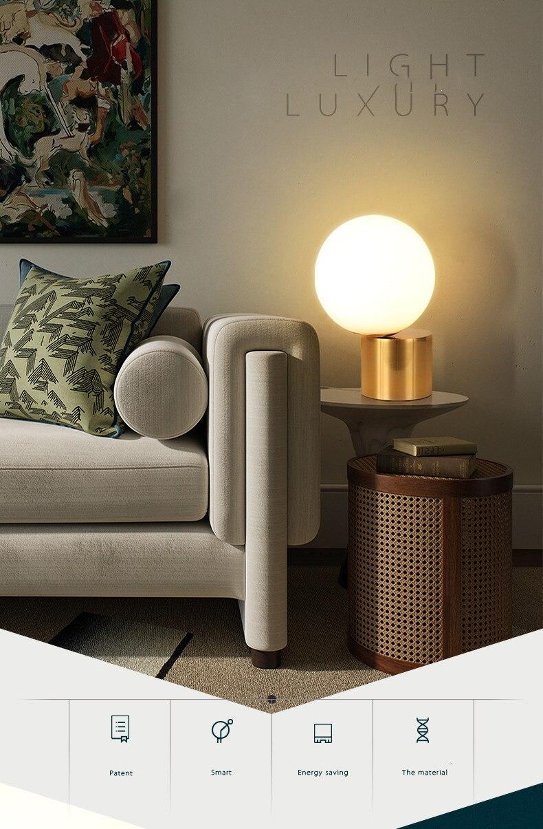 redonda luz para sala estar quarto