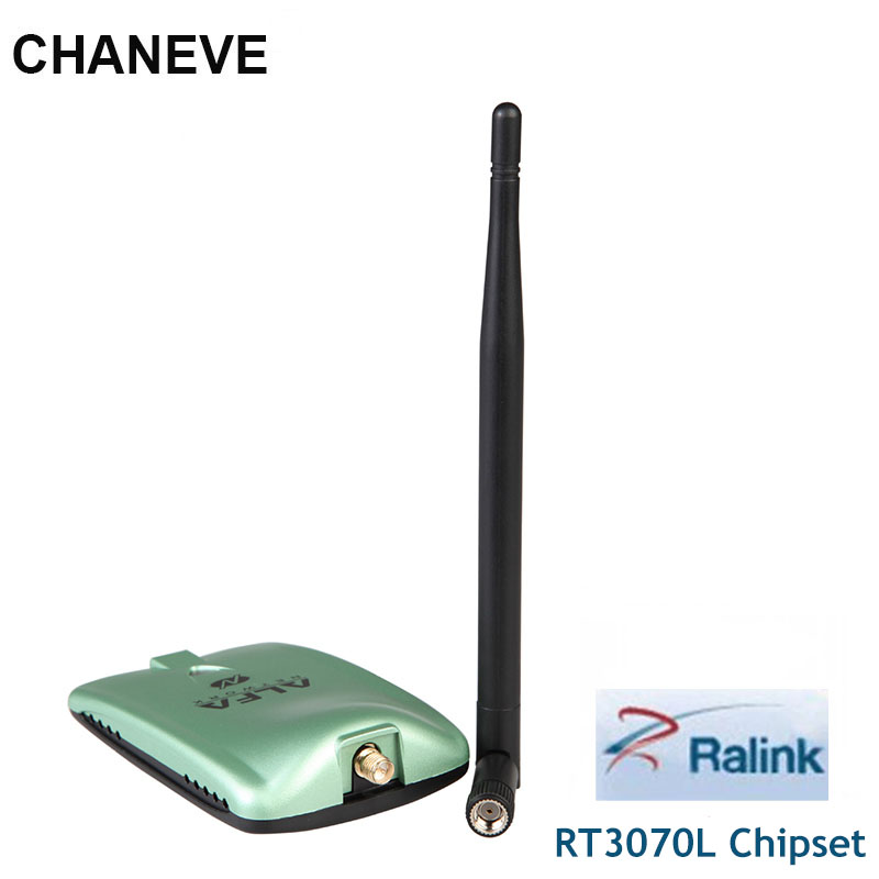 Rede alfa awus036nh ralink rt3070l chipset 2000 mw sem fio usb wifi adaptador 150 mbps sem fio wi-fi placa de rede para kali linux