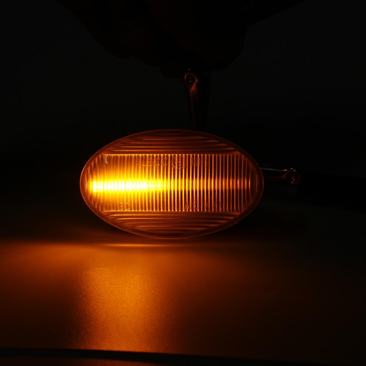 2x Dynamic LED Side Marker signal Light For Benz W450 W452 W168 W447 Vito W639