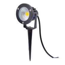 10 pièces LED étanche lumière de jardin 3W 5W 10W 12W LED de jardin lampe 12V 110V 220V Spike jardin lumière étang chemin inondation Spot éclairage
