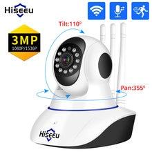 Hiseeu 1536P 1080P IP Kamera WIFI Wireless Smart Home Security Kamera Überwachung 2-Weg Audio CCTV Pet kamera 2mp Baby Monitor