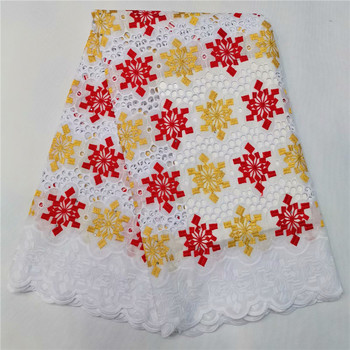 2019 High Quality France Swiss Voile Laces Latest African Swiss Voile Lace Cotton Fabric Swiss Voile Lace In Switzerland hl82-85